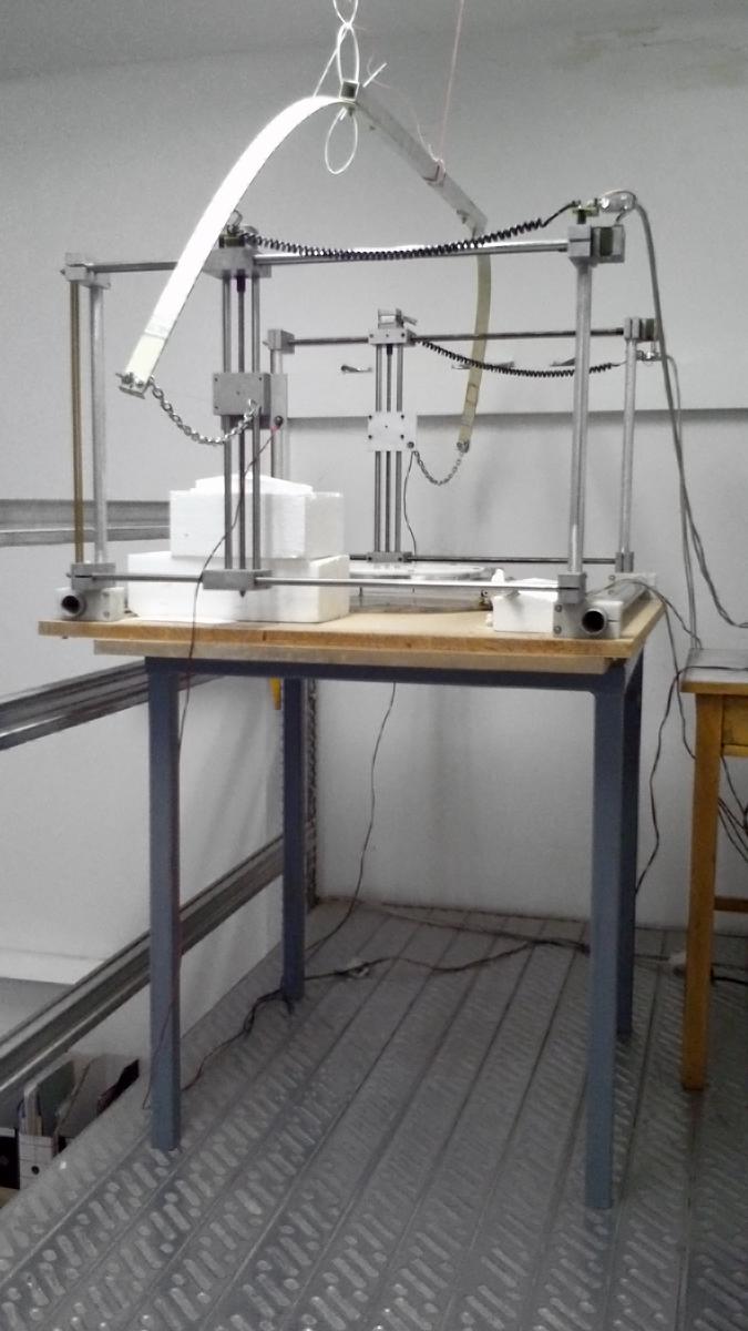 Ddplab Archive Cnc Hot Wire Cutter Foam Design Diagram